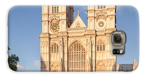 Facade Of A Cathedral, Westminster Galaxy S6 Case by Panoramic Images