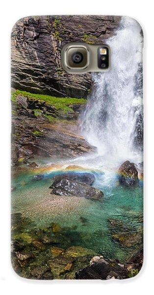 Fall And Rainbow Galaxy S6 Case