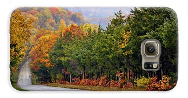 Fall On Fox Hollow Road Galaxy S6 Case