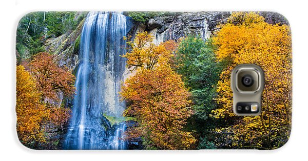 Fall Silver Falls Galaxy S6 Case by Robert Bynum