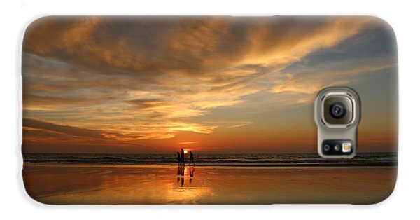 Family Reflections At Sunset - 2 Galaxy S6 Case