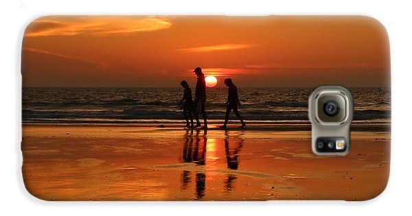 Family Reflections At Sunset - 1 Galaxy S6 Case