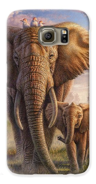 Family Stroll Galaxy S6 Case by Phil Jaeger