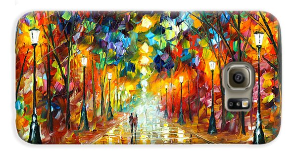 Magician Galaxy S6 Case - Farewell To Anger by Leonid Afremov