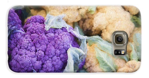 Farmers Market Purple Cauliflower Galaxy S6 Case