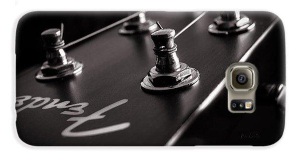 Guitar Galaxy S6 Case - Fender Acoustic I by Bob Orsillo