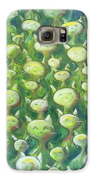 Field Of Cats Galaxy S6 Case