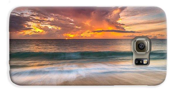 Fiery Skies Azure Waters Rendezvous Galaxy S6 Case