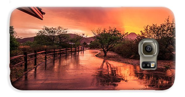Fiery Sunset Galaxy S6 Case