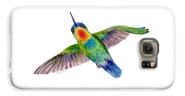 Fiery-throated Hummingbird Galaxy S6 Case