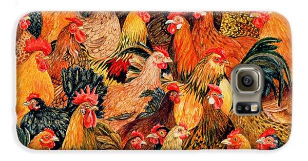 Fine Fowl Galaxy S6 Case by Ditz