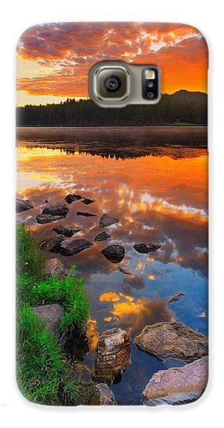 Fire On Water Galaxy S6 Case by Kadek Susanto