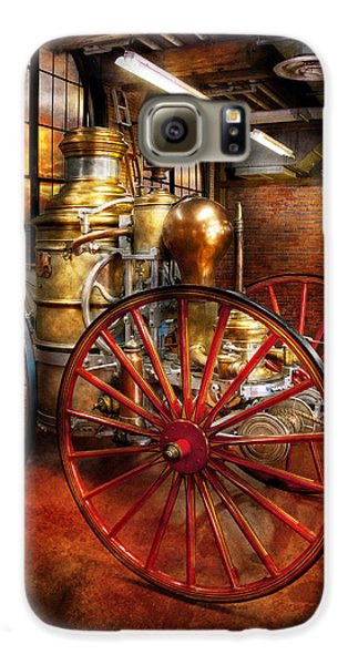 Fireman - One Day A Long Time Ago  Galaxy S6 Case