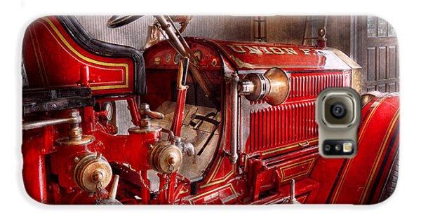 Fireman - Truck - Waiting For A Call Galaxy S6 Case