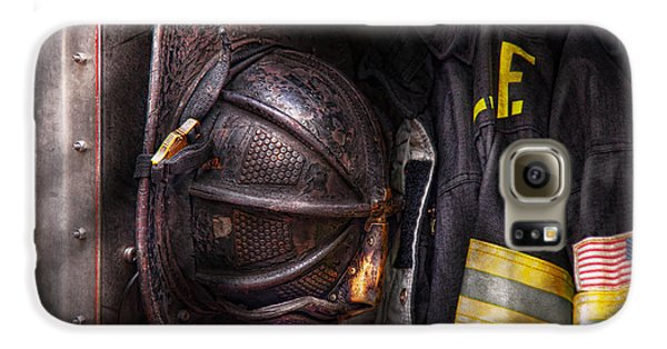 Fireman - Worn And Used Galaxy S6 Case