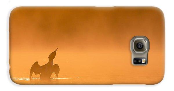 Fiery Wing Flap Galaxy S6 Case by Tim Grams