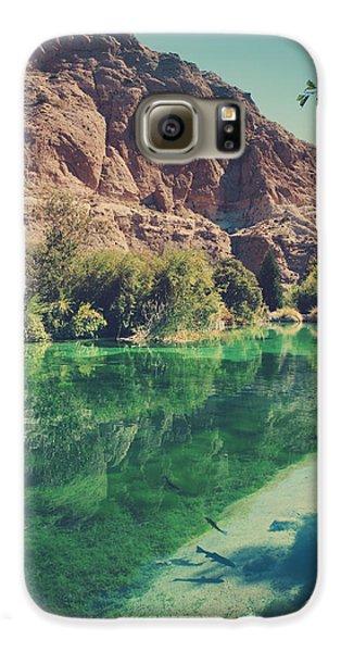 Desert Galaxy S6 Case - Fish Gotta Swim by Laurie Search
