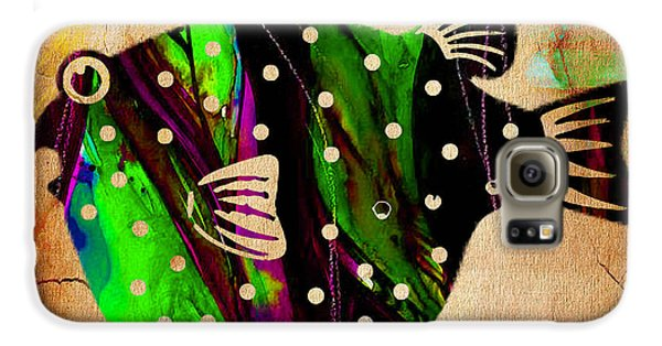 Fish Paintings Galaxy S6 Case