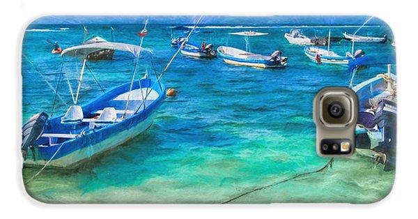Fishing Boats Galaxy S6 Case