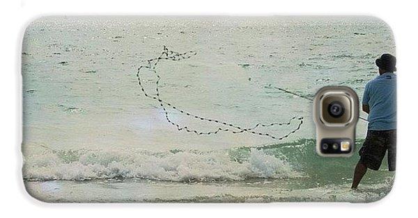 Beautiful Galaxy S6 Case - #fishing #florida #clearwaterbeach by Georgia Fowler