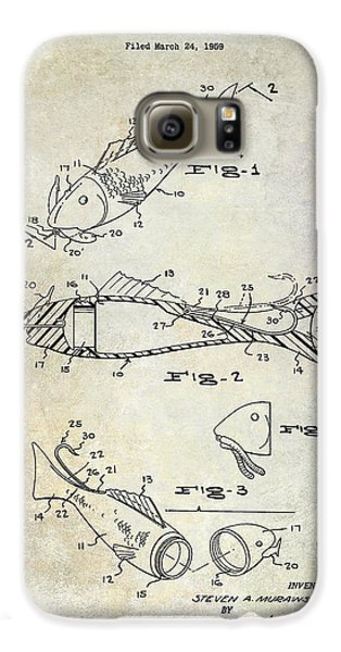 Fishing Lure Patent 1959 Galaxy S6 Case