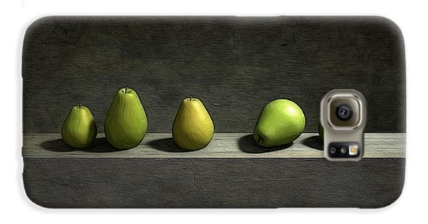 Five Pears Galaxy S6 Case by Cynthia Decker