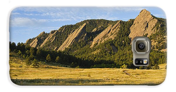 Flatirons From Chautauqua Park Galaxy S6 Case by James BO  Insogna