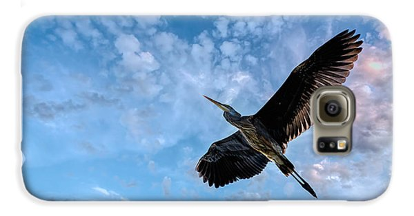 Flight Of The Heron Galaxy S6 Case by Bob Orsillo