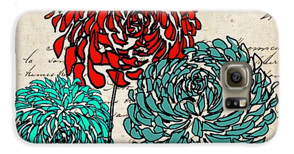 Floral Delight Iv Galaxy S6 Case