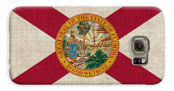 Florida State Flag Galaxy S6 Case by Pixel Chimp