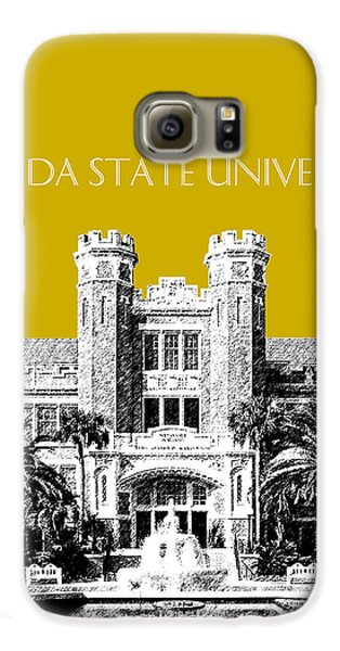 Florida State University - Gold Galaxy S6 Case by DB Artist