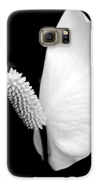 Lily Galaxy S6 Case - Flower Power Peace Lily by Tom Mc Nemar