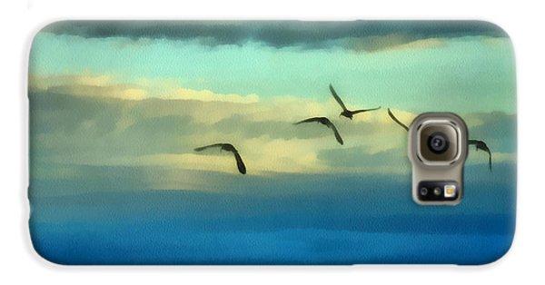 Fly Away Galaxy S6 Case by Ernie Echols