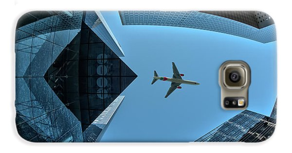 Airplanes Galaxy S6 Case - Fly Over by Marc Pelissier