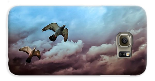 Flying Before The Storm Galaxy S6 Case by Bob Orsillo