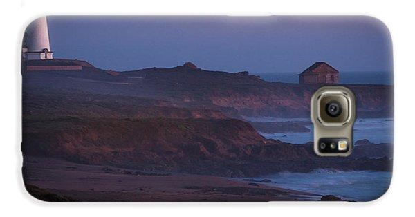 Fog Forming Over Piedras Blancas....  San Simeon Galaxy S6 Case