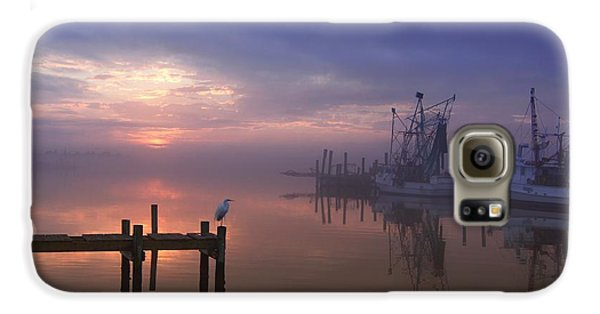 Foggy Sunset Over Swansboro Galaxy S6 Case