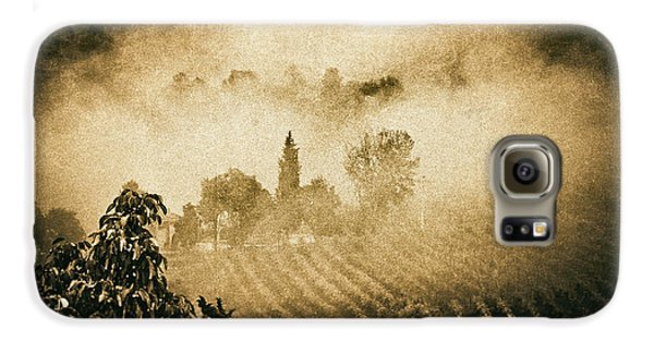 Galaxy S6 Case featuring the photograph Foggy Tuscany by Silvia Ganora
