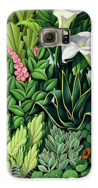 Garden Galaxy S6 Case - Foliage by Catherine Abel
