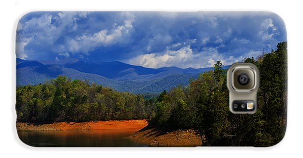 Fontana Lake Storm Galaxy S6 Case