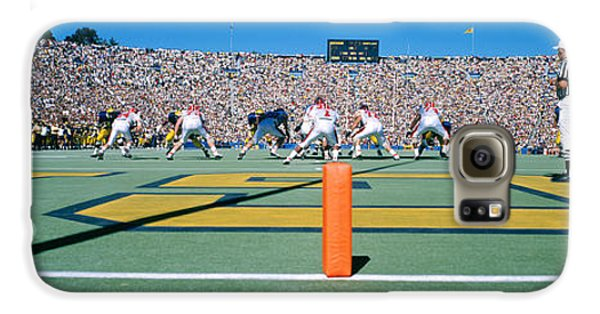 Football Game, University Of Michigan Galaxy S6 Case