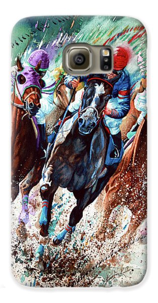 Horse Galaxy S6 Case - For The Roses by Hanne Lore Koehler