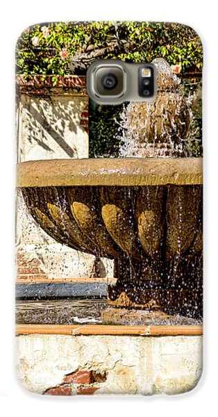 Fountain Of Beauty Galaxy S6 Case by Peggy Hughes
