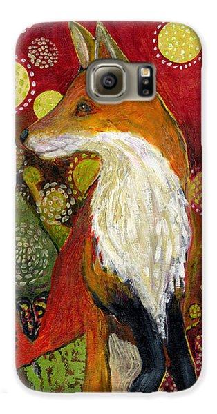 Wildlife Galaxy S6 Case - Fox Listens by Jennifer Lommers