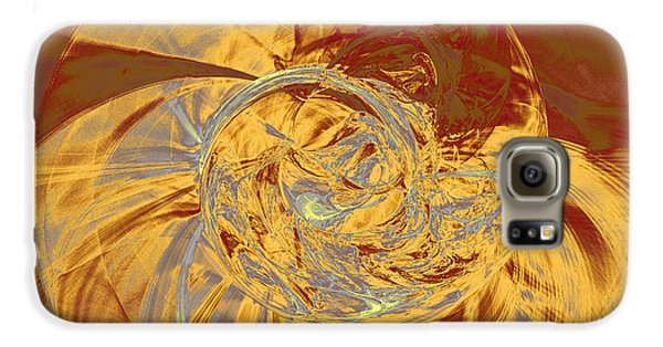 Fractal Ammonite Galaxy S6 Case