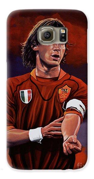 Sports Galaxy S6 Case - Francesco Totti by Paul Meijering