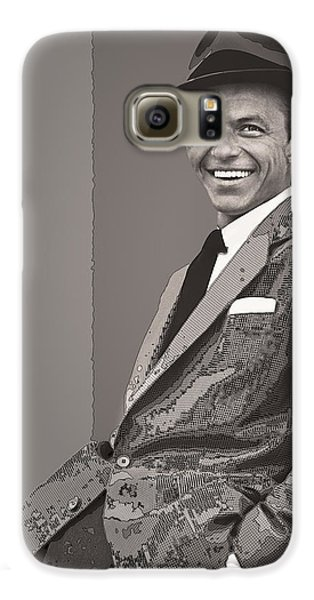 Frank Sinatra Galaxy S6 Case by Daniel Hagerman