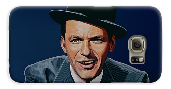 Jazz Galaxy S6 Case - Frank Sinatra by Paul Meijering