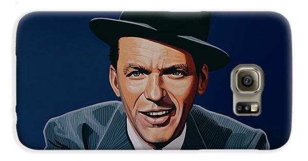 Jazz Galaxy S6 Case - Frank Sinatra by Paul Meijering