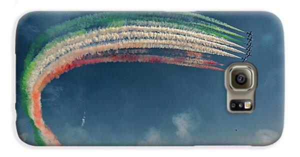Airplanes Galaxy S6 Case - Frecce Tricolori by J. Antonio Pardo